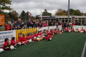 De laatste dag van weer een geslaagd herfst voetbalkamp bij Pancratius