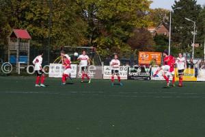 Uitspelen van Pancratius 2 – Hoogland 2 bij een stand van 1 – 0 einduitslag 4 – 0 met schitterden doelpunten van Danny en Aziz
