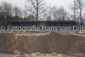 Pancratius voortgang aanleg van het nieuwe kunstgrasveld en de verbouwing van de kantine