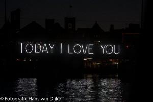 """""""Amsterdam Light Festival"""" vanaf een rondvaartboot van rederij Lovers"""