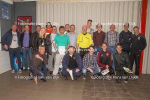 Diploma uitreiking verenigingsscheidsrechters Pancratius