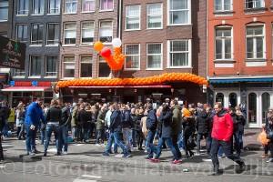 Een paar foto's van Koningsdag Amsterdam 2016 met Café de Ster, de Jordaan, Café Hoppe en afgesloten met een heerlijke Kusbasi bij Restaurant Larende