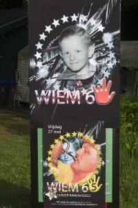 Verrassing feest voor Wiem Wientjes 65 verjaardag op kampeervereniging licht en lucht