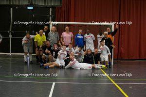Horeca Leidseplein 50+ zaalvoetbaltoernooi 2e editie dit jaar in het teken van Only Friends