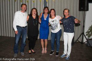 Sarah verjaardag feest Marianne Hondeveldt met familie en vrienden bij Pancratius