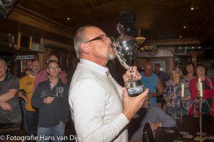 De 6e open Purmerendse toep kampioenschappen 2016 in Café Aad de Wolf voor de tweede keer gewonnen door Dik