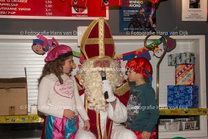 Pancratius Sinterklaasfeest 2016 voor de mini en de Champions Leagua