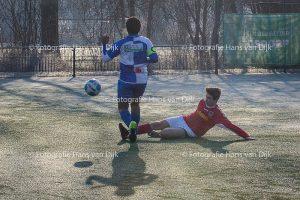 Pancratius zondag 22 januari met de tegenstanders Waterwijk JO15-5, Weesp FC JO17-4, WV-HEDW 3, ST WSV 30/Jisp VR2 en Zwanenburg 1