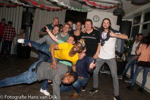 Medewerkers avond Pancratius met Lid van Verdienste Frans van Rheenen en Kampioensfeestje zaterdag 1
