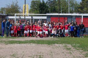 6 mei 2017 Voetbal skills getoond tijdens voetbalexamen
