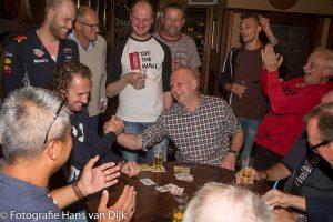 De 7e open Purmerendse toep kampioenschappen 2017 in Café Aad de Wolf gewonnen door Bob