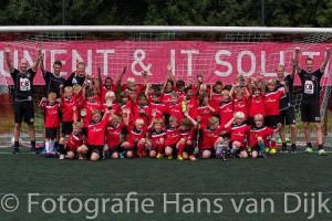 Foto's van de laatste middag van het Pancratius Voetbalkamp