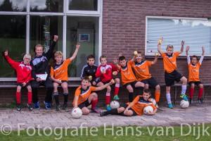 Weer een geslaagd voetbalkamp in de herfstvakantie bij Pancratius