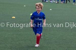 Laatste dag van weer een zeer geslaagd voetbalkamp in de mei vakantie