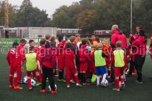Voetbalkamp Pancratius herfstvakantie dag 1