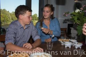 Feestje voor Sophie haar 18e en Pepijn zijn 16e verjaardag