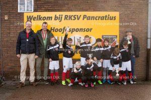 Pancratius zaterdag 9 december met de kampioenen JO9-4 en JO10-3 en de wedstrijden JO11-7 - Koninklijke HFC JO11-9, JO10-6 - Badhoevedorp sc. JO10-2, JO9-1 - BFC JO9-1, JO9-4 - Legmeervogels JO9-3, JO9-7 - Hoofddorp s.v. JO9-9, JO8-1 - Jonathan JO8-1, JO13-1 - AS'80 JO13-1 en JO12-3 - VVA/Spartaan JO12-2