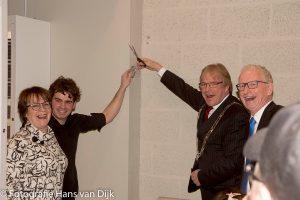 Feestelijke opening door Burgemeester Marc Witteman van de showroom Interhoff