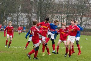 Pancratius zaterdag 20 januari de Champions Leageu en vriendschappelijke wedstrijden