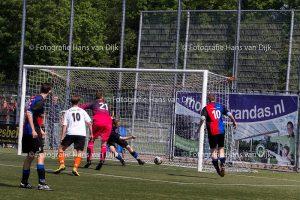 Zwanenburg 1 - HBC 1 uitslag 0 - 1