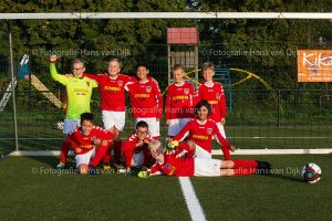 Pancratius zaterdag 6 oktober de Mini's en Champions Leageu en jeugd teams
