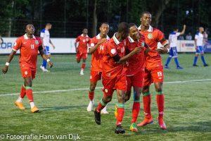 Natio Suriname heeft het trainingskamp in Nederland winnend afgesloten tegen RKSV Leonidas werd gewonnen met 3 - 2