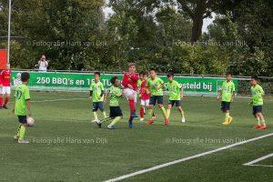 Het Chinese FC Shenzhen Greenfield met 4 jeugdteams tegen onze jeugd van Pancratius