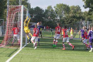 Zondagochtend Ramada CUP U13 kruisfinales RSC Anderlecht - AZ Alkmaar, Feyenoord Rotterdam - Sparta Rotterdam, Afc Ajax - RB Leipzig en Bayer 04 Leverkusen - K.R.C. Genk