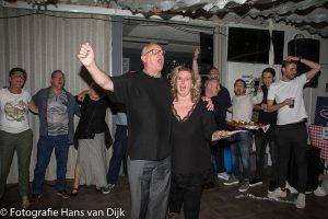 25 jarige huwelijksfeest van Miriëlle en Henk