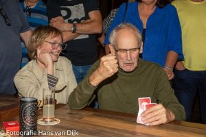 De 9e open Purmerendse toep kampioenschappen 2019 in Café Aad de Wolf gewonnen door Gerard