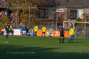 Dios 1 – Pancratuis 1 uitslag 2 – 4 met in de rust shootouts van het Dios G-team