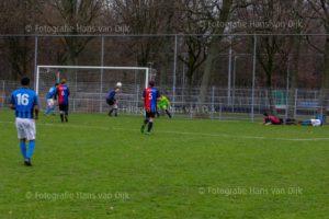 Nieuwjaarswedstrijd DWS 1 – Zwanenburg 1 uitslag 3 - 0