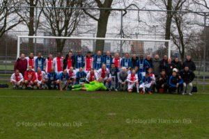 Nieuwjaarswedstrijd Veteranen DWS – AJAX uitslag 1 - 2