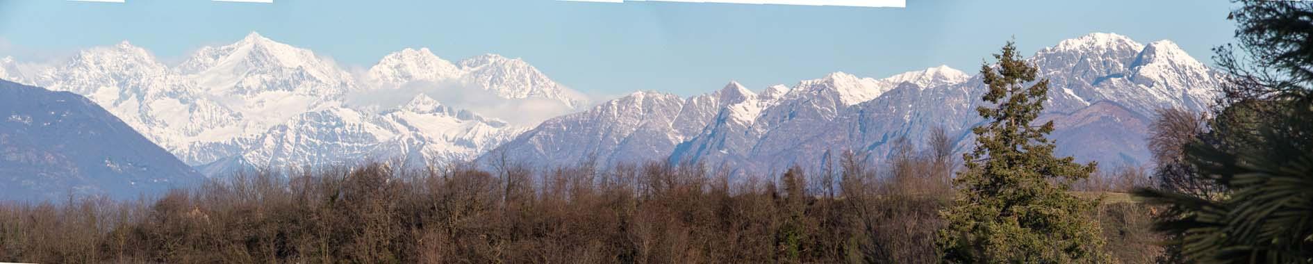 Panorama Lago Maggiore Italië 2013